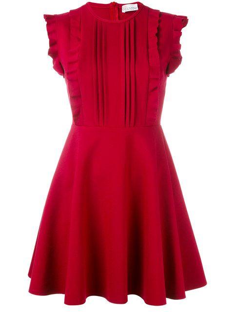 Shop Red Valentino ruffled mini dress.