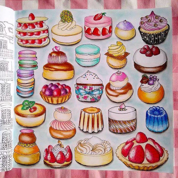 Livro Segredos De Paris Segredosdeparis Secret Pintado Por Mim Jessicasantin Adult ColoringColoring BooksPencil