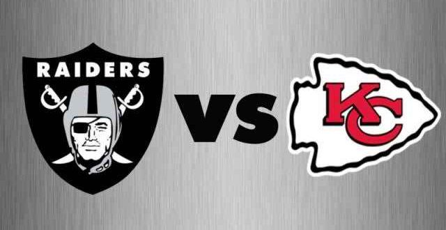 Kansas City Chiefs vs Oakland Raiders Live (CBS) NFL Sports
