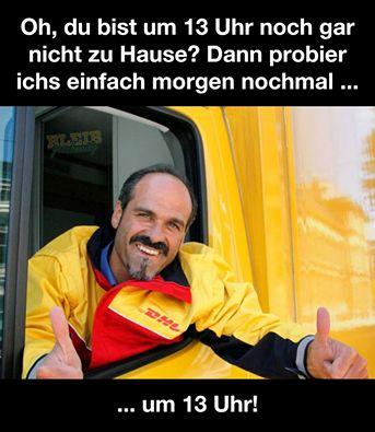 DHL #derneuemann #humor #lustig #spaß