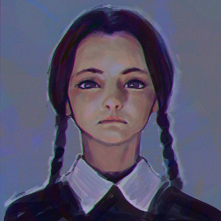 Wednesday sketch, Ilya Kuvshinov on ArtStation at http://www.artstation.com/artwork/wednesday-sketch