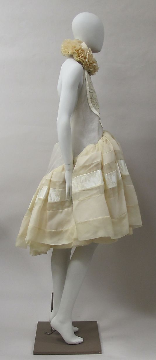 Dress House of Balenciaga (French, founded 1937)  Designer: Nicolas Ghesquière (French, born 1971) Date: spring/summer 2006 Culture: French Medium: silk, metal. Sideway