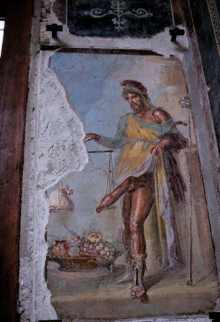 Приап - бог плодородия. Экскурсия Помпеи