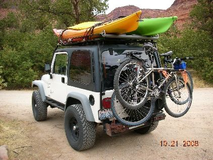 kayak rack for jeep - Google Search Now that's what I want