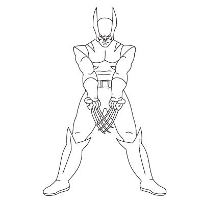 how to draw wolverine from my how to draw site lots of great drawing lessons