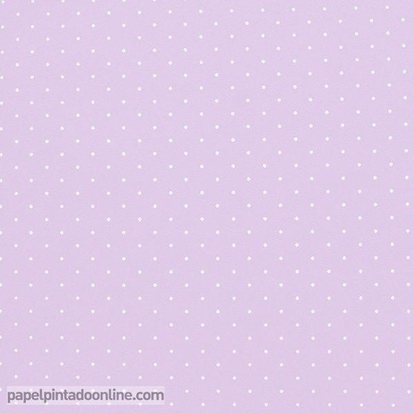 Papel pintado infantil babies 10153 con topitos blancos sobre fondo lila papel pintado - Papel pintado rojo y blanco ...