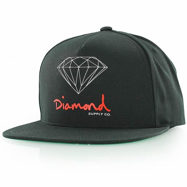 http://www.kickz.com/fi/diamond-supply-co-snapback-lippikset-cap-diamond-og-logo-snapback-black-113061001