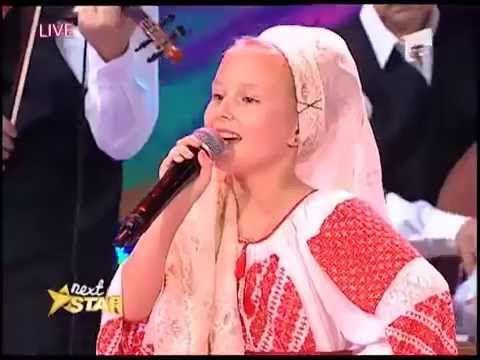 """Cornelia Orleanu - """"Foaie verde mărgărit"""" - Next Star"""