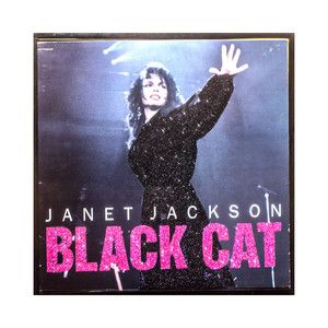 Janet Jackson Black Cat, $85, now featured on Fab.
