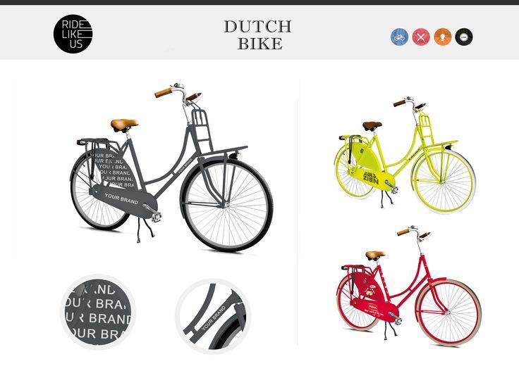 Your Brand Here - Dutch Bike | Ride Like Us