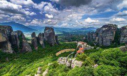 Greece, The Monastery, Meteors