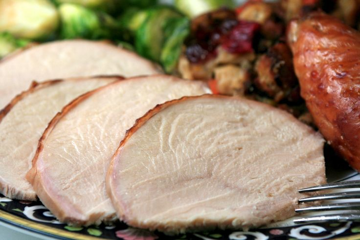 Maple and Cider Brined Turkey - This is the perfect treatment for heritage birds, which can be tougher but more flavorful than mass produced frozen turkeys. A must-try for #Thanksgiving!