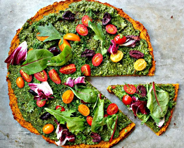 Wholehearted Eats : Incredible Squash Pizza Crust is squash, chick pea flour and flax seeds