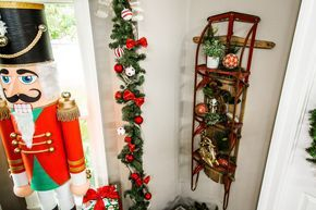 A fun and festive DIY Sleigh Shelf by Kenneth Wingard! Don't miss Home & Family weekdays at 10a/9c on Hallmark Channel!