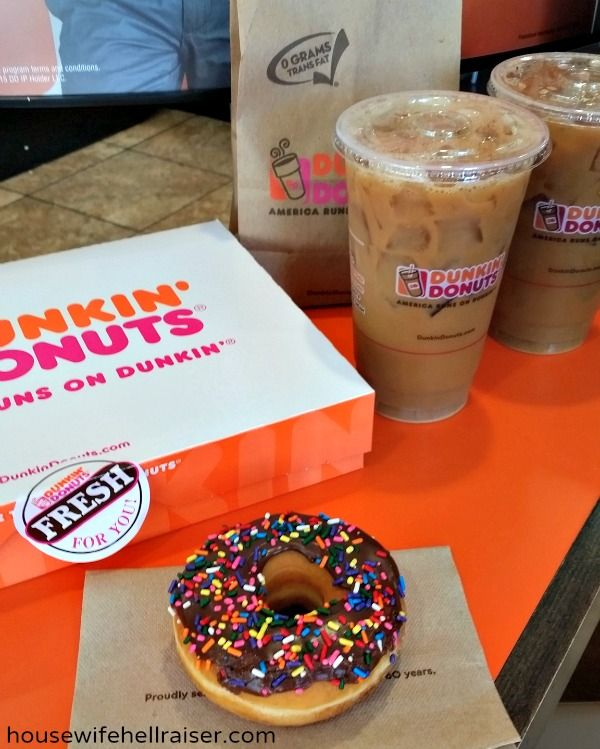 Dunkin donut giveaway!!