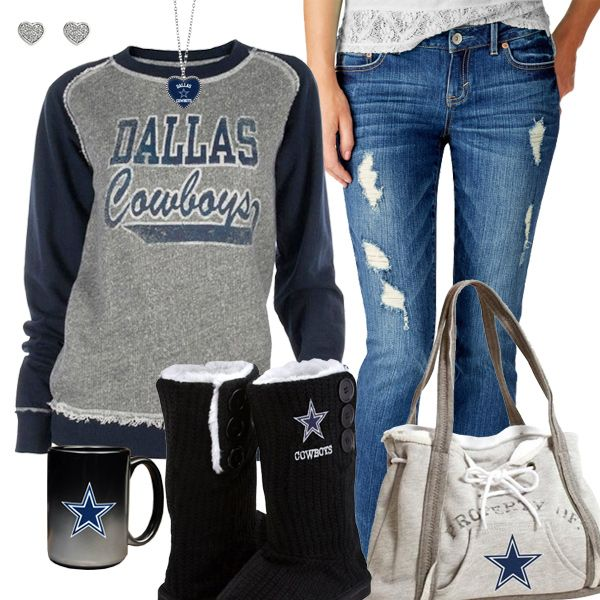 Dallas Cowboys Fashion - Cozy Cowboys Sunday