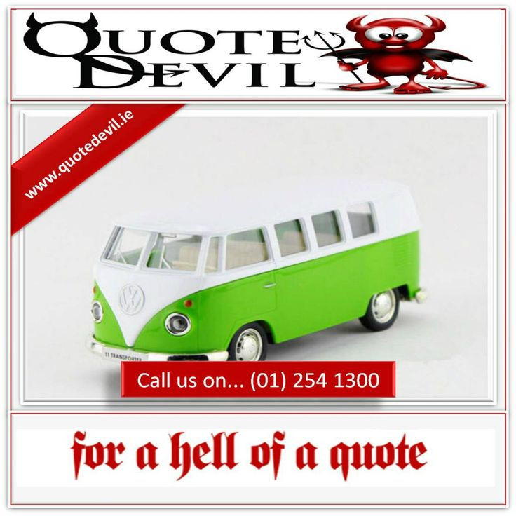 Ireland's Pioneers In Arranging Fast & Low Cost #VanInsurance Call.. (01) 254 1300 #AD http://ow.ly/Y9Omt