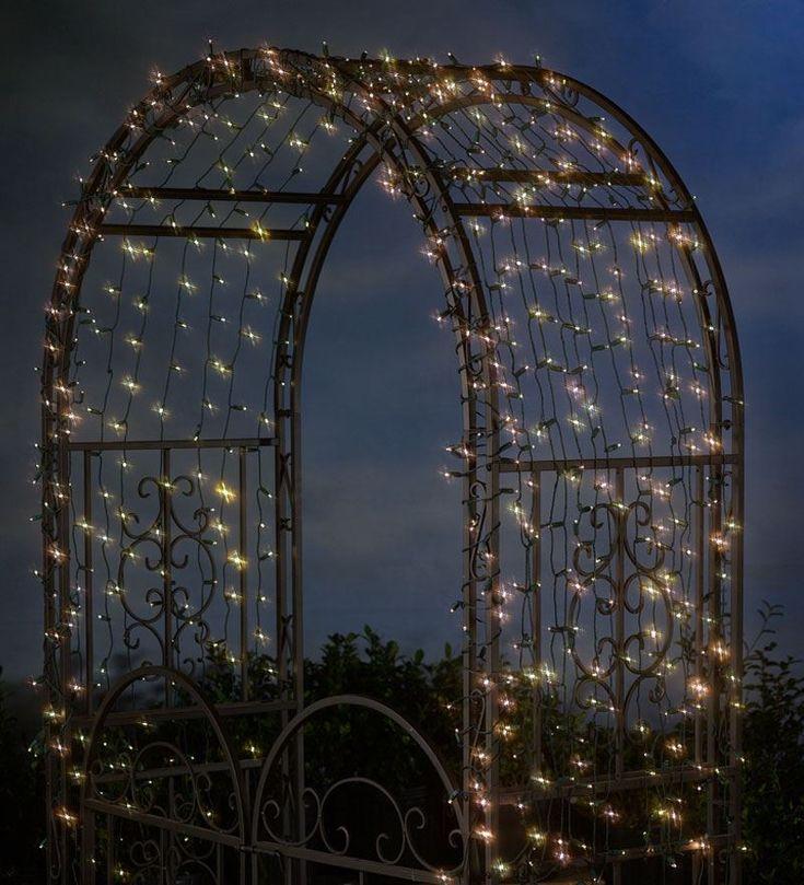 400 Solar String Lights | Solar Lighting | Plow & Hearth