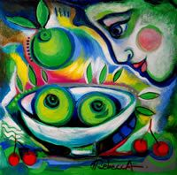 Rebecca de Cachard : Les pommes vertes