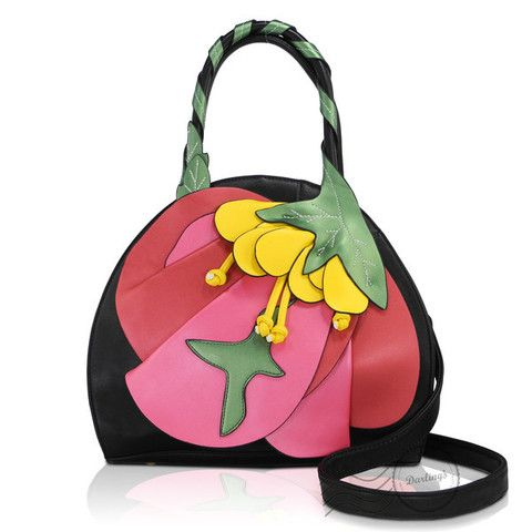 Flower Handbag   The Real Wool Shop