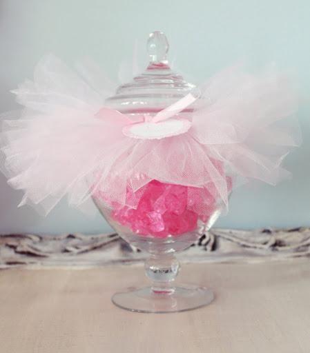 DIY Apothecary Candy Jar Tutus