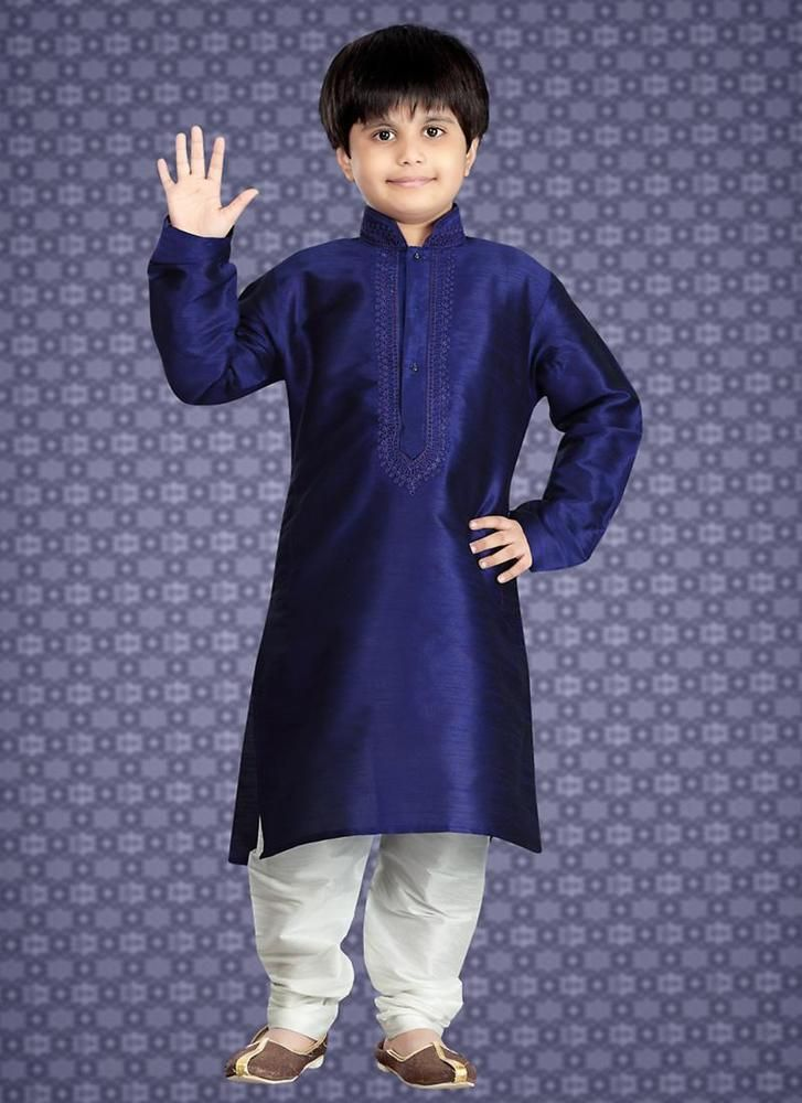 stitched Pajama Bollywood Casual Kids Kurta Indian Ethnic Readymade Traditional #kriyacreation #Solid