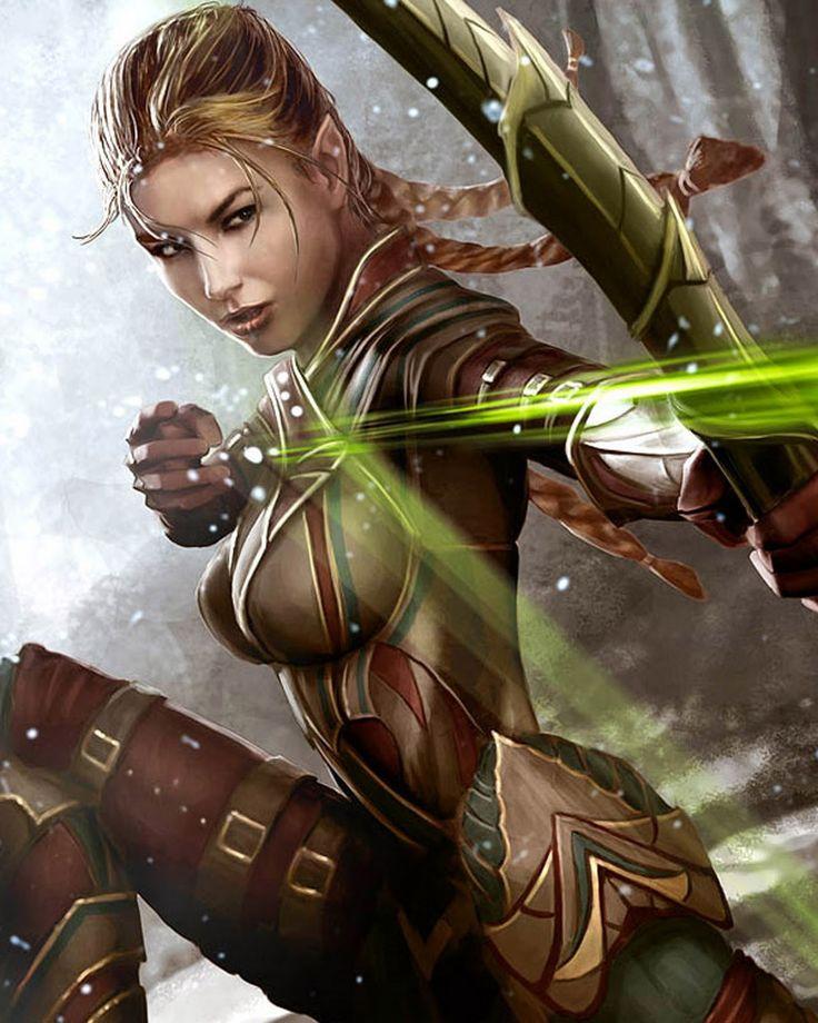 Elf Warrior the swiftest.....
