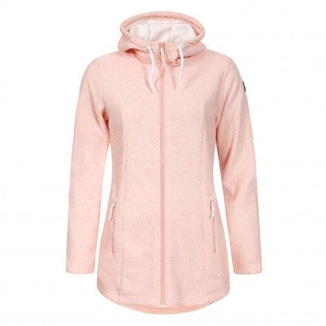 Icepeak Lii fleece vest dames roze De Wit Schijndel
