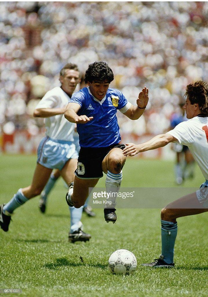 Argentina Inglaterra 86 Diego Maradona Seleccion Argentina De Futbol Leyendas De Futbol
