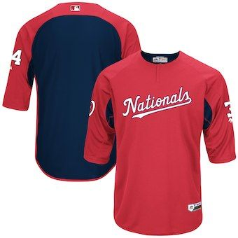 caf5da8b2 Bryce Harper Washington Nationals Majestic Authentic Collection On-Field  3 4-Sleeve Player