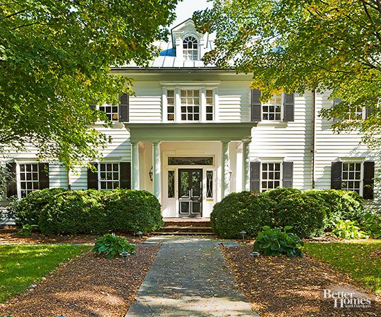 Best Remodel Front Porch Images On Pinterest Front Doors - Colonial portico front entrance