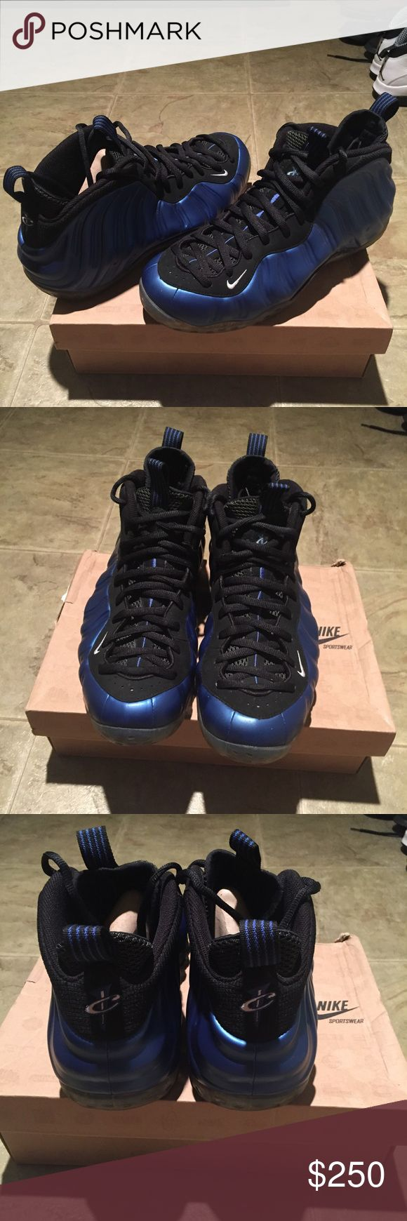 Nike Penny foamposite Orlando royal Sz 12 Worn only 2 times and is basically brand new. Shoes Athletic Shoes