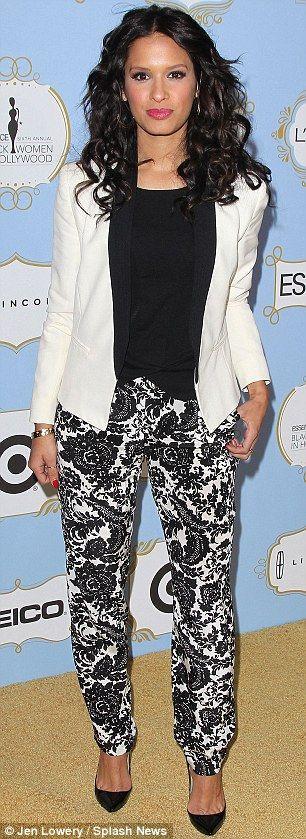 Rocsi Diaz + Print pants