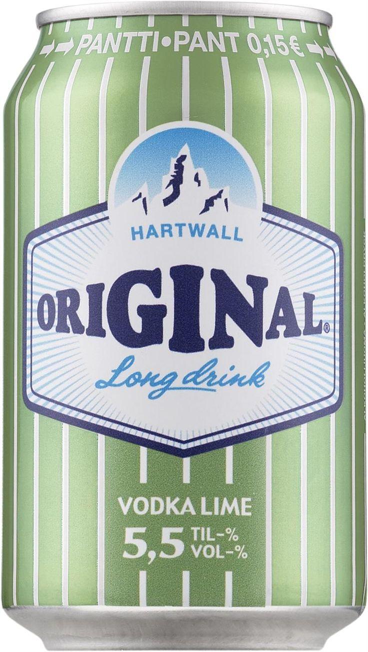 Original Long Drink Vodka Lime tölkki - Tuotteet - Alko
