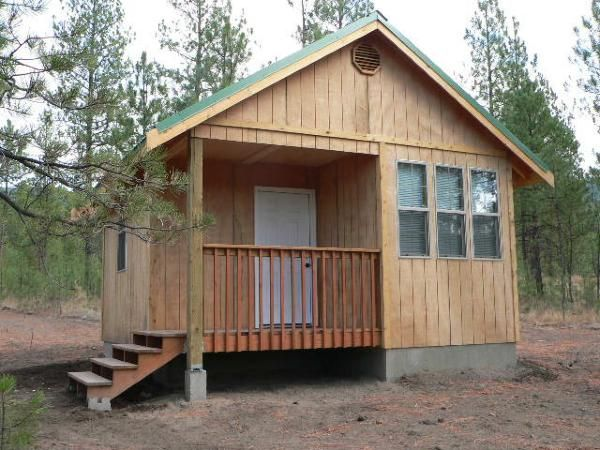 Easy build hunting cabins joy studio design gallery for Hunting cabin house plans