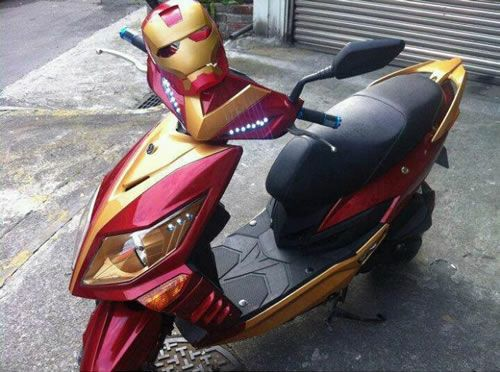 Iron Man ScooterGeek, Bikes, Awesome, Ironman Scooters, Motors Scooters, Iron Man, Funny, Products Design, Superhero