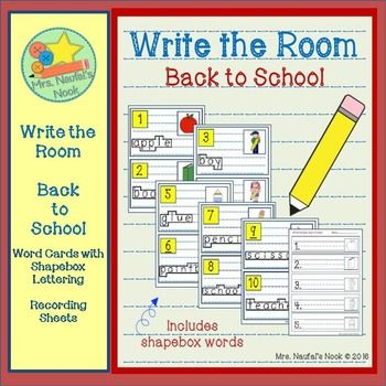 detective literacy center – read and write the room