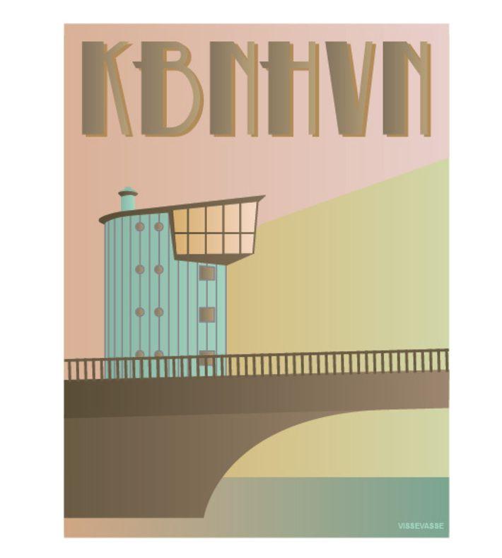 KØBENHAVN. The bridge called Langebro. You can buy this piece at www.artrebels.com #artrebels #art #vissevasse