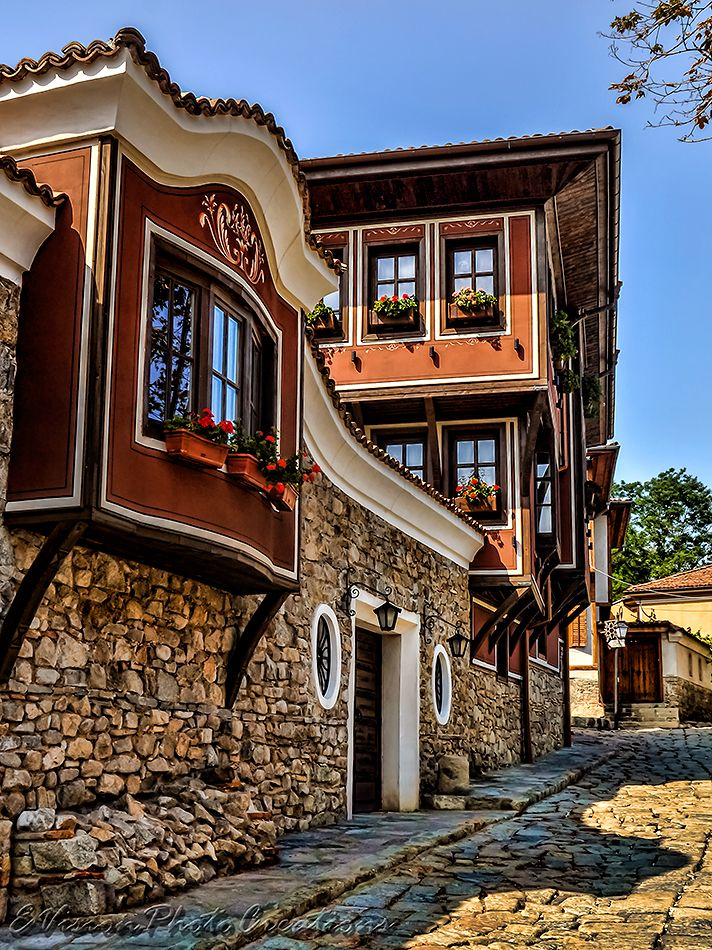 Традиционные турецкие дома на Балканах, Пловдив, Болгария. www.russkiygidvstambule.com info@russkiygidvstambule.com gidturist@hotmail.com