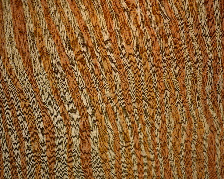 Yukultji Napangati - Untitled - 2009 - 122x153cm  IDAIA - International Development for Australian Indigenous Art