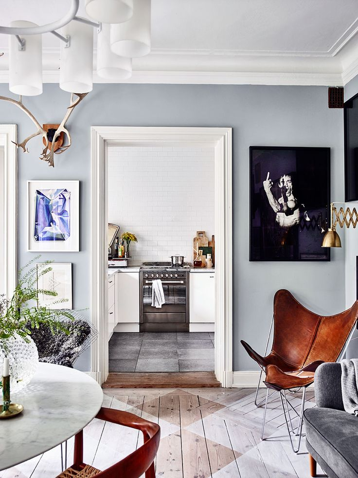 Summer Blues: 11 Super-Cool Rooms to Soothe Your Senses