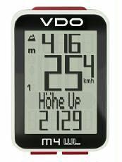 Fahrradcomputer VDO M4 WL mit Höhenmesser kabellos