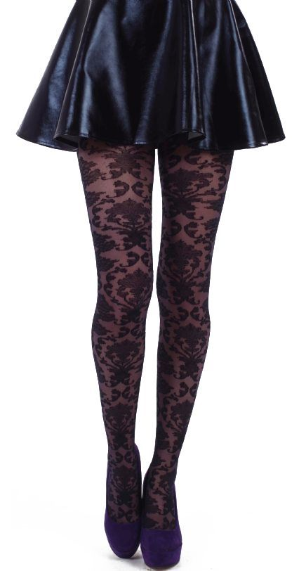 Dresuri Baroque Tulle Tights http://www.tights.ro/index.php/pattern/baroque-tulle-tights