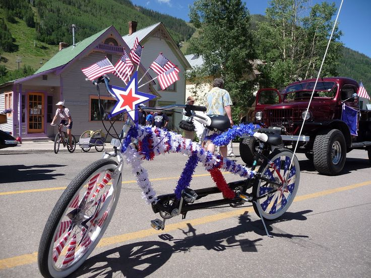 17 best images about parade ideas on pinterest illusions for Bike decorating ideas