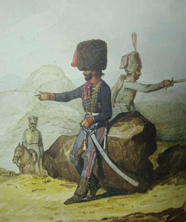 Lanceros de Castilla 1812 - Don Juan Sánchez