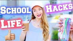 back to school hacks - YouTube