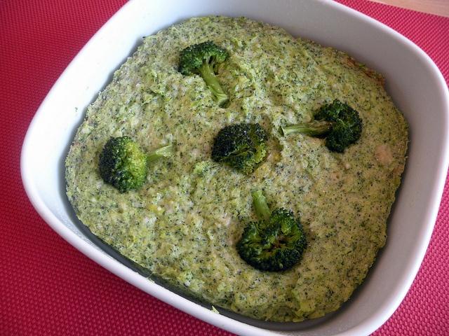 Sformato di broccoli, via Flickr.