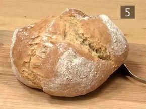 Ír sütőporos kenyér - teljes kiörlésű liszttel