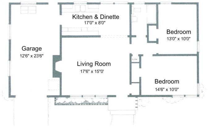 Two Bedroom House Plans For You Bedroom House Plans Two Bedroom House Small House Plans Free