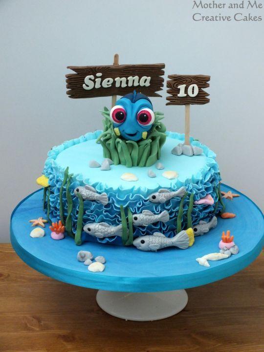 Dory Cake Party Ideas Dory Cake Dory Birthday Cake